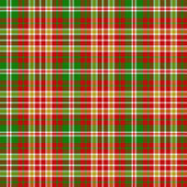 Christmas tartan pattern — Stock Vector