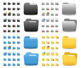 Icons Set for Web Applications — Vector de stock