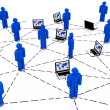Business team Network — Foto Stock