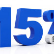 15 Percent off - Stock Photo
