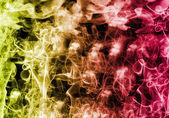 Smoke on black — Стоковое фото