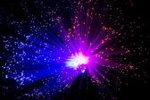 纤维光学 — 图库照片