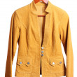 Women's brown jacket — Stock Photo #10587508