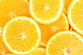 Orangen hautnah — Stockfoto