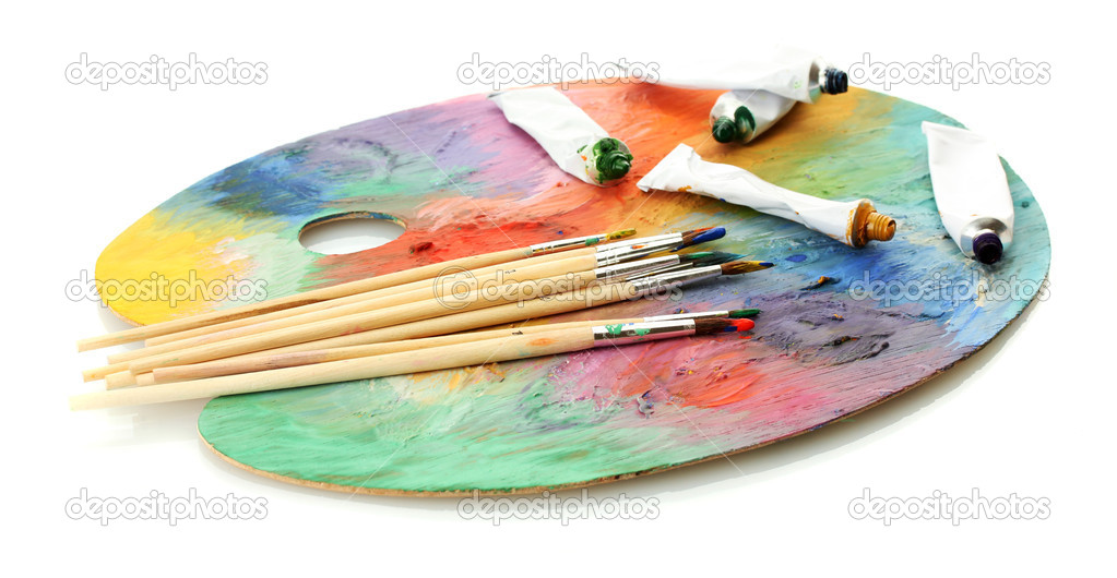 Peinture Palette Bois - Maison Design - Sibfa.Com
