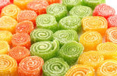 Sweet jelly candies, close up — Stock Photo