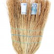 Broom sweep euro close-up — Stock Photo #13196642