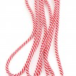 Colorful shoelaces isolated on white — Stock Photo #13322486