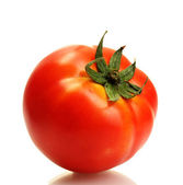 Tomato isolated on white — Stok fotoğraf