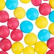 Color candies close-up — Stock Photo