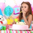 Royalty-Free Stock Photo: Little beautiful girl celebrate her birthday
