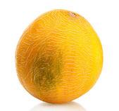 Ripe sweet melon, isolated on white — Stock Photo