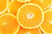 Apelsiner på nära håll — Stockfoto