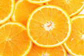 Oranges close up — Stock fotografie