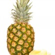 Pineapple isolated on white — Stock Photo
