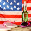 Concept of Labor Day in America, close-up - Stock Photo