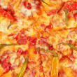 Stock Photo: Tasty pepperoni pizzclose-up