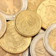 Euro coins background — Stock Photo #13848023