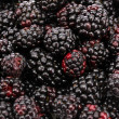 Background of beautiful blackberries — Stock Photo