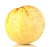 Sweet melon isolated on white background — Stock Photo