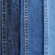 Many jeans closeup — Stock Photo #14342201