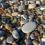 Beach stones close-up — Stock Photo #14398711