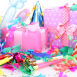 Party decoration close up — Stock Photo