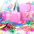 Party decoration close up — Stock Photo #14672857