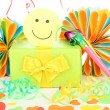 Party decorations close up - Stock Photo