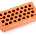 Brick, isolated on white — Stock Photo