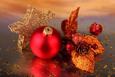 Christmas decoration on light background — Стоковое фото