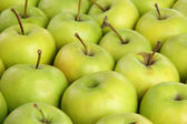 Jugosas manzanas, cerrar — Foto de Stock