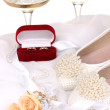 Wedding accessories — Stock Photo #15630733