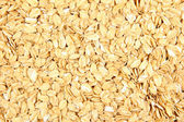 Oat flakes texture of close up — Stock Photo