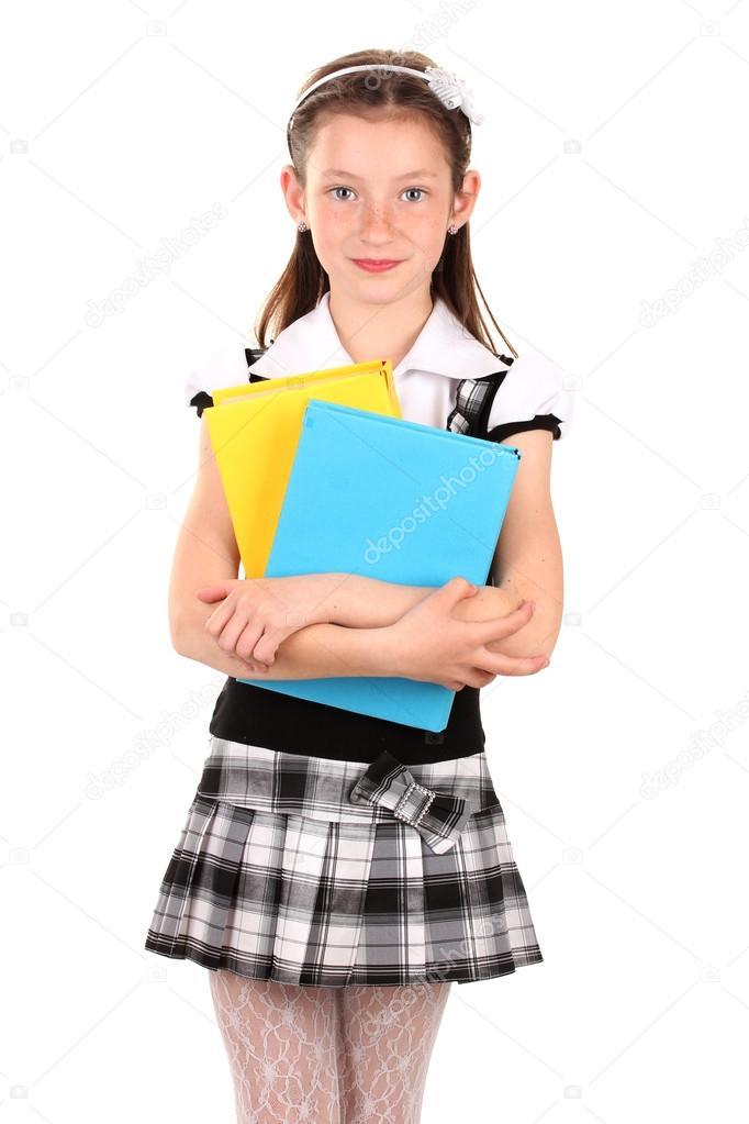 School uniform for little girls
