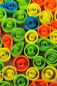 красочные рюш макро — Стоковое фото