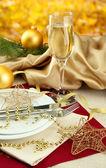 Vacker jul inställning, närbild — Stockfoto