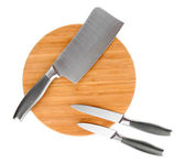 Set of knives isolated on white — Stock Photo