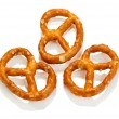 Stock Photo: Tasty pretzels isolated on white