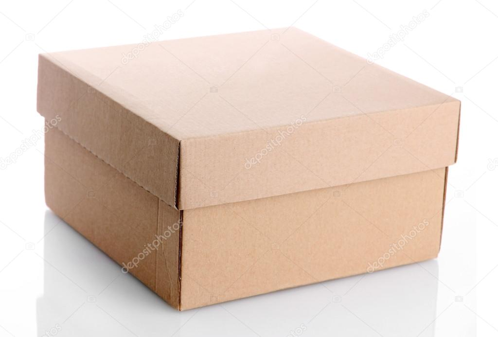 Paper box, isolated on white — Stock Photo #17873703