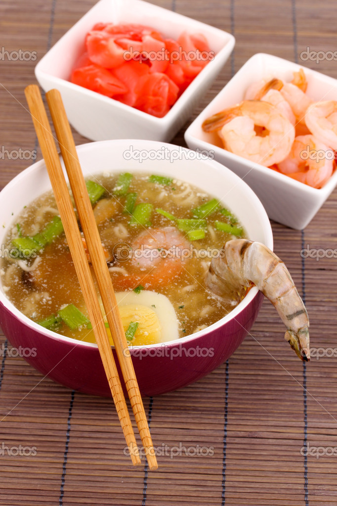 Chinese soup  Stock Photo #17873799