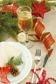 Prachtige Kerstmis instellen, close-up — Stockfoto