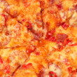 Tasty pepperoni pizzclose-up — Stock Photo #18064105