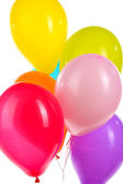 Colorful balloons close-up — Stock Photo