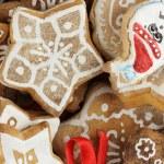 Christmas treats close-up — Stock Photo