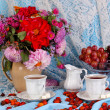 Stock Photo: Gentle autumn still life