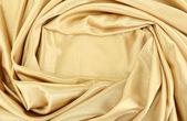 Hermosa cortina de seda, cerrar — Foto de Stock