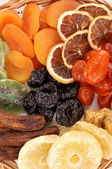 Dried fruits close-up — Stock Photo