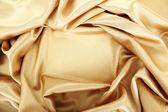 Linda cortina de seda, close-up — Foto Stock
