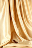 Beautiful silk drape, isolated on white — Stock Photo